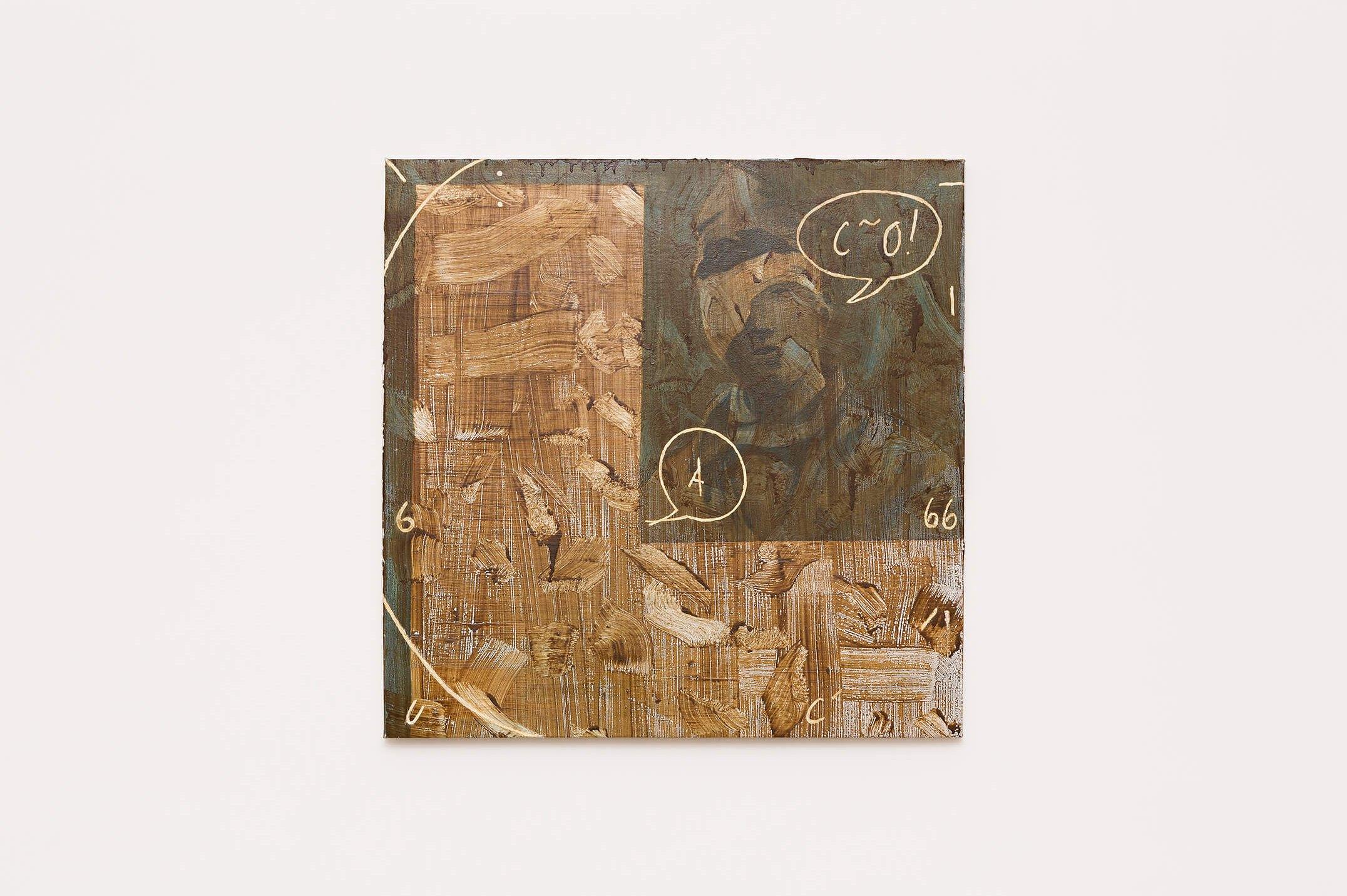 Deyson Gilbert,<em>untitled</em>,2014,oil and varnish on canvas, 81 × 81 × 3 cm - Mendes Wood DM