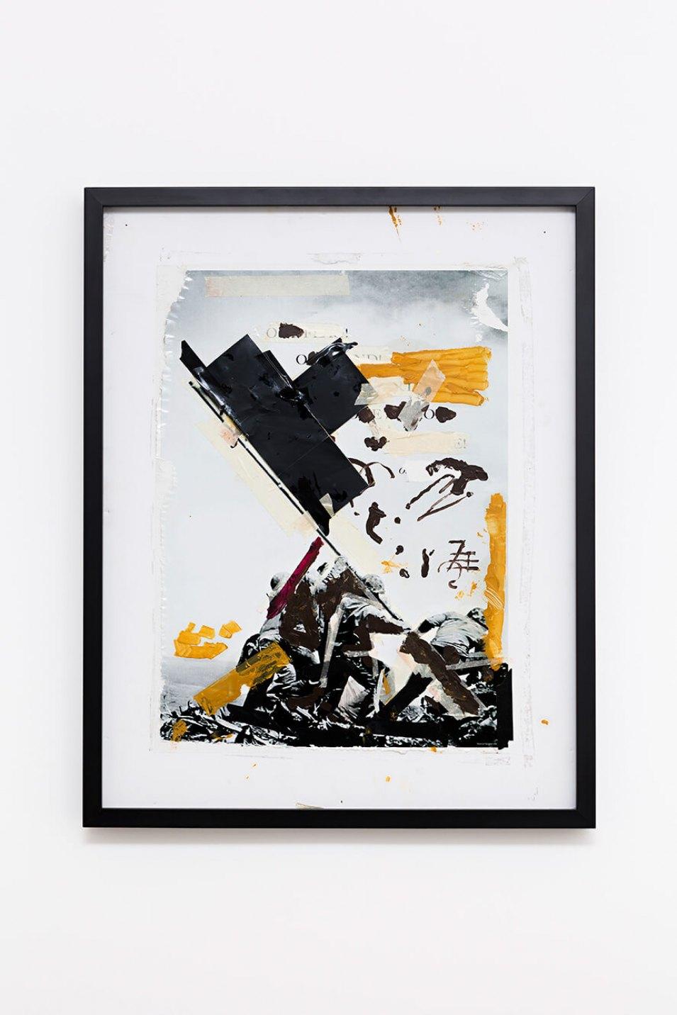 Deyson Gilbert,<em>diagonal</em>,2013,oil on paper, 74 × 59,5 ×4 cm - Mendes Wood DM