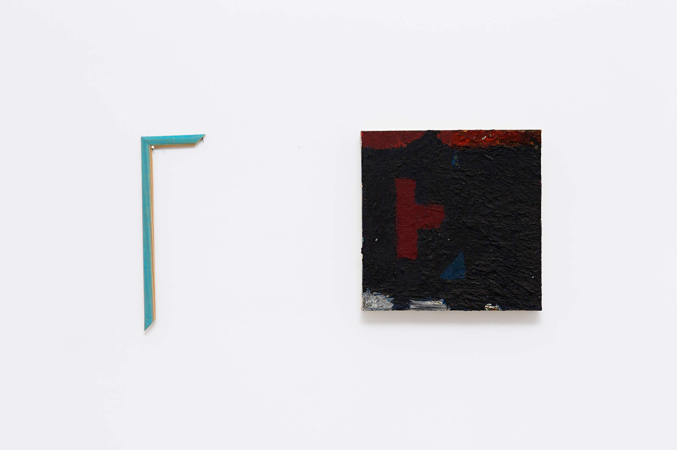 Deyson Gilbert, <em>untitled</em>, 2003,oil on canvas, 33 × 67 ×4 cm - Mendes Wood DM