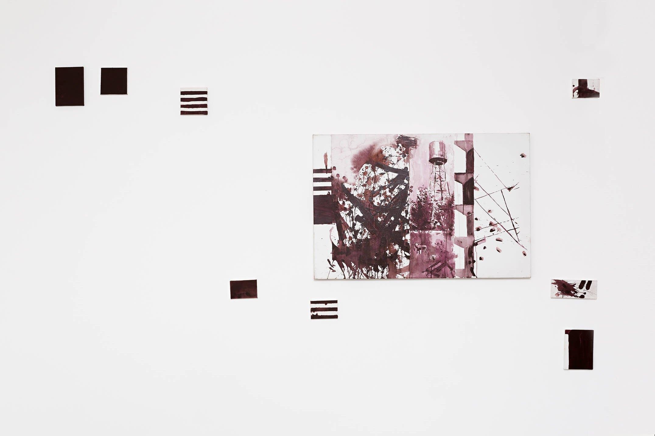 Deyson Gilbert,<em>América</em>,2014,oil on canvas, 264 × 300 × 4 cm - Mendes Wood DM
