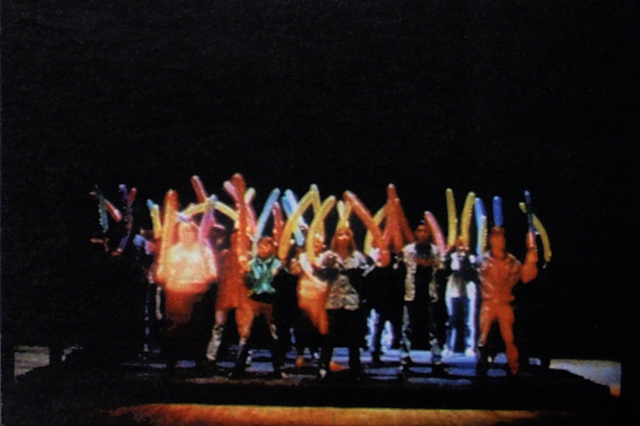 Miklos Onucsan,<em>Stiff Ballet for the End of the Century,</em>1996, video, 14' - Mendes Wood DM