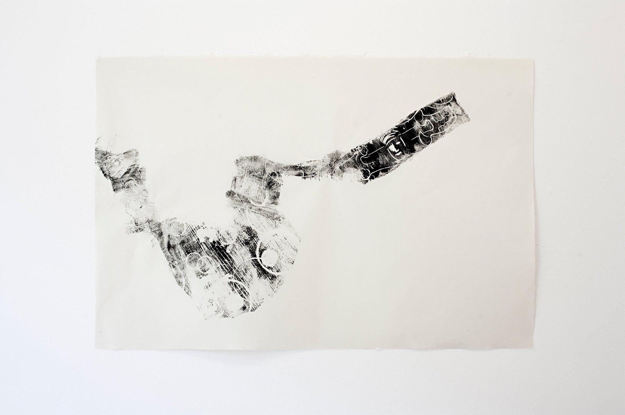 Mariana Castillo Deball,<em>Zoomorph G Imprint 10</em>,2013, monoprint on Hosokawa paper 39g, 61 × 91 cm - Mendes Wood DM
