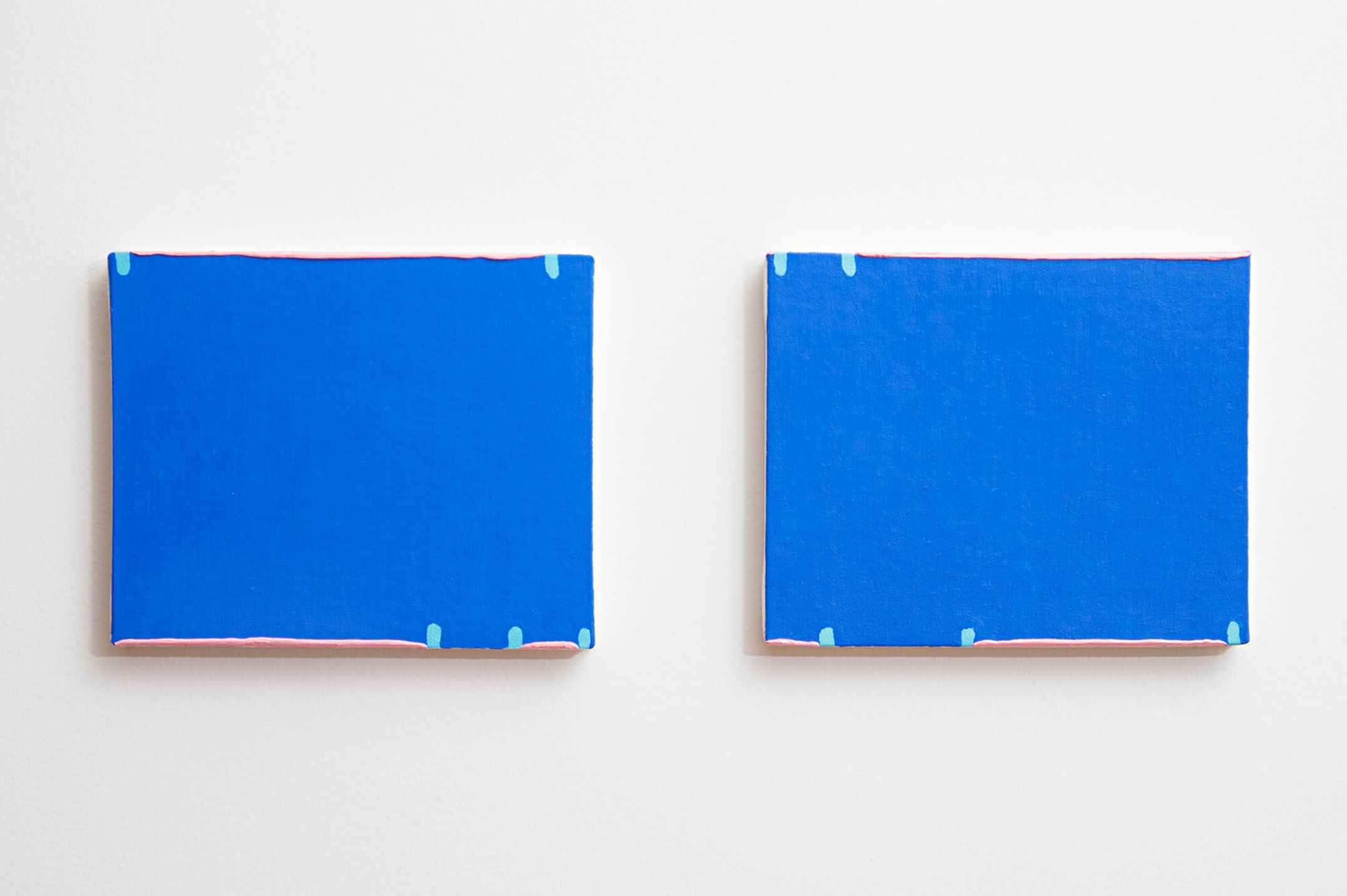 Paulo Monteiro, <em>untitled</em>, 2013, oil on canvas, 20 × 25 cm (each) - Mendes Wood DM