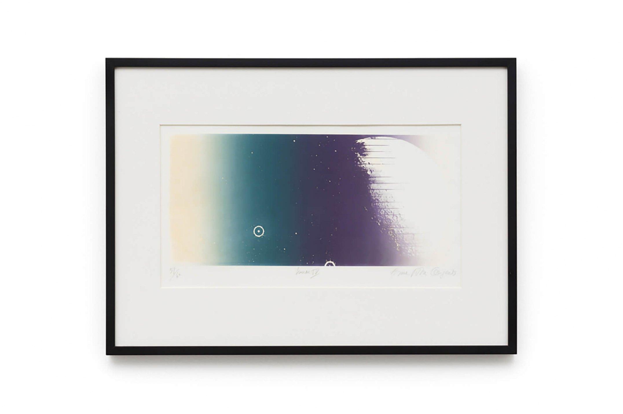 Anna Bella Geiger,<em>&nbsp;Lunar IV,&nbsp;</em>1973, photo silkscreen in colors, 51 × 70 cm - Mendes Wood DM