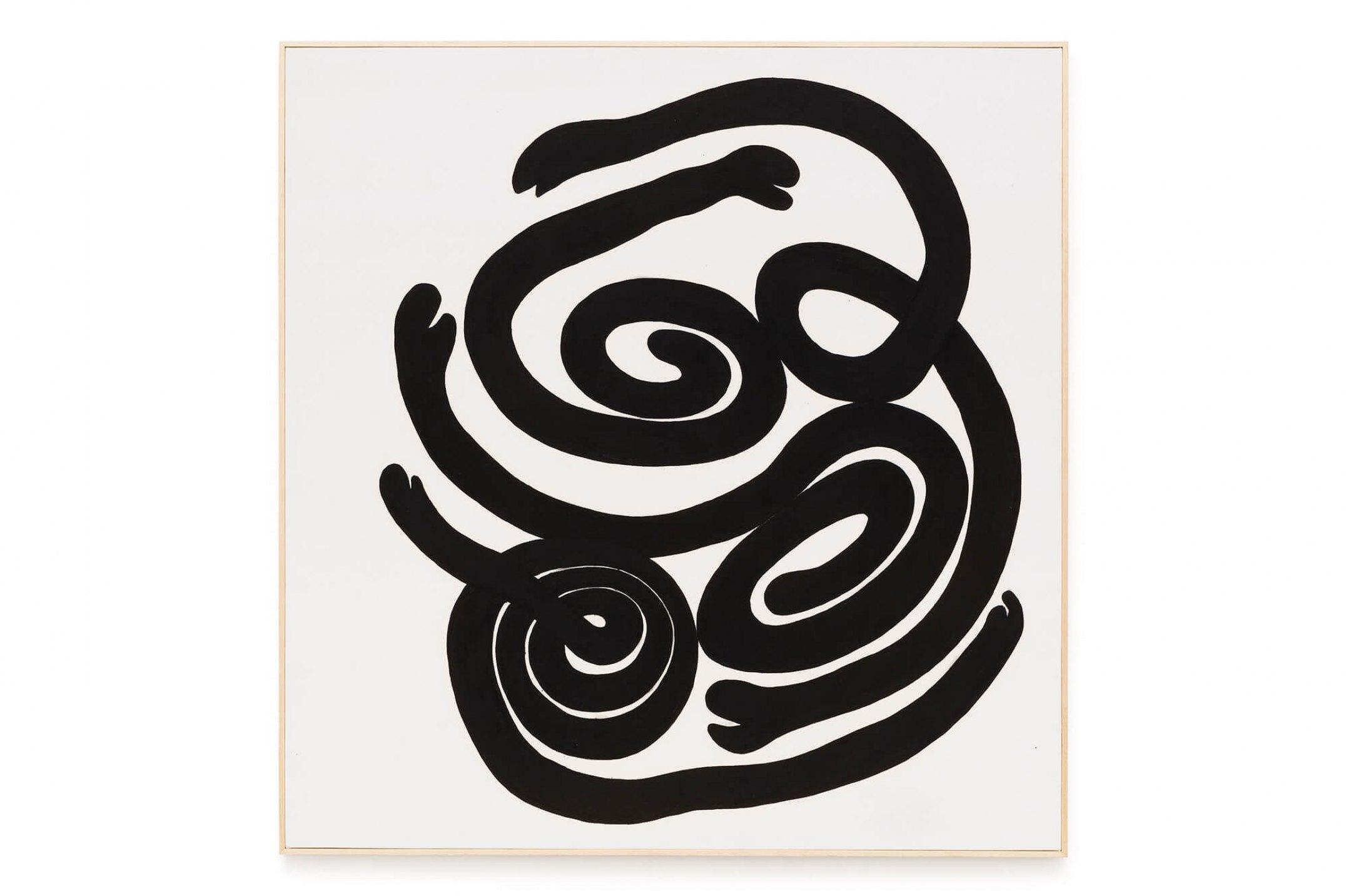 Solange Pessoa,<em>untitled,</em> 2016, oil on canvas, 160 × 160 cm - Mendes Wood DM