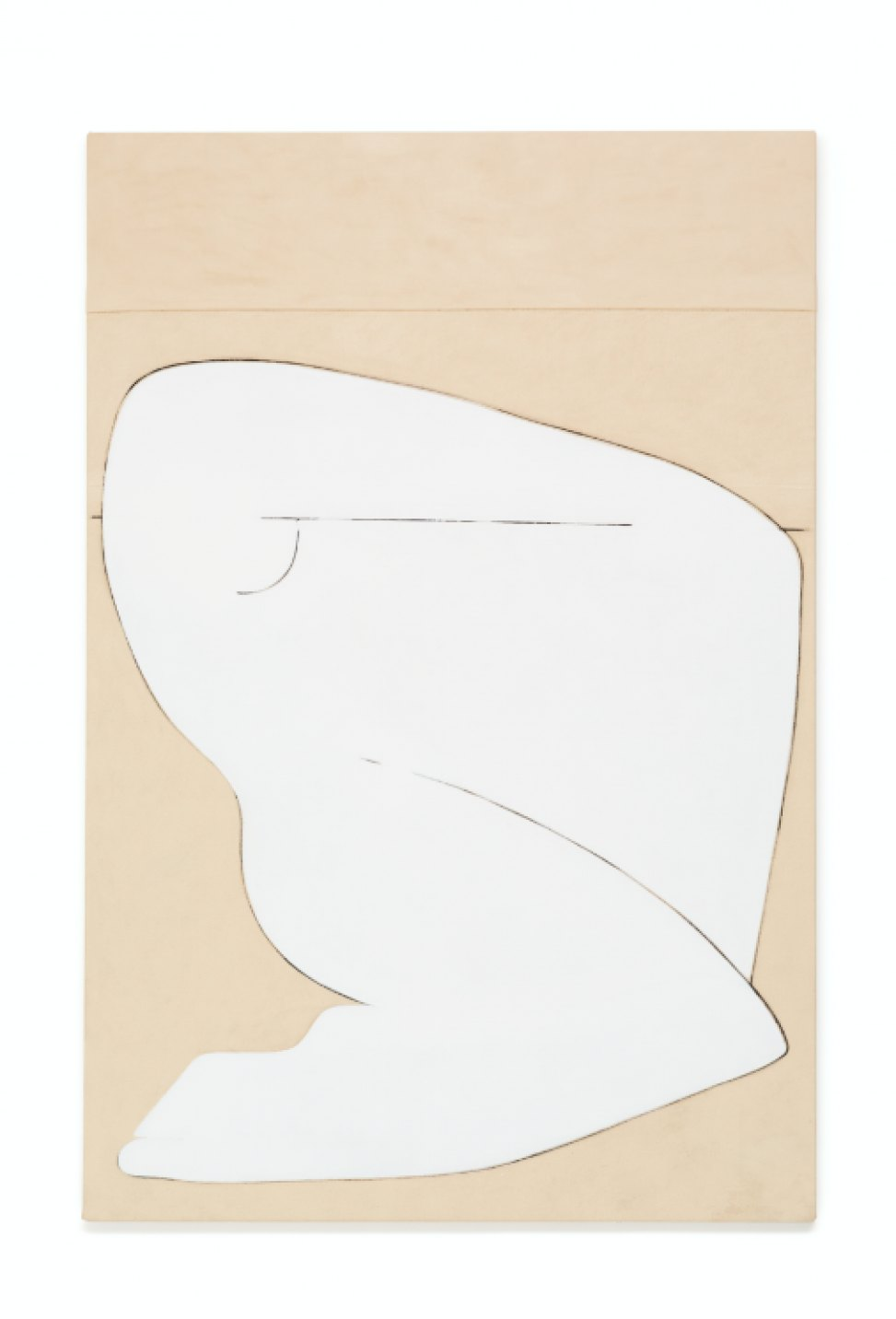 Julie Beaufils, <em>Modern amazone 2</em>, 2017, acrylic and ink on canvas, 130 × 195 cm - Mendes Wood DM