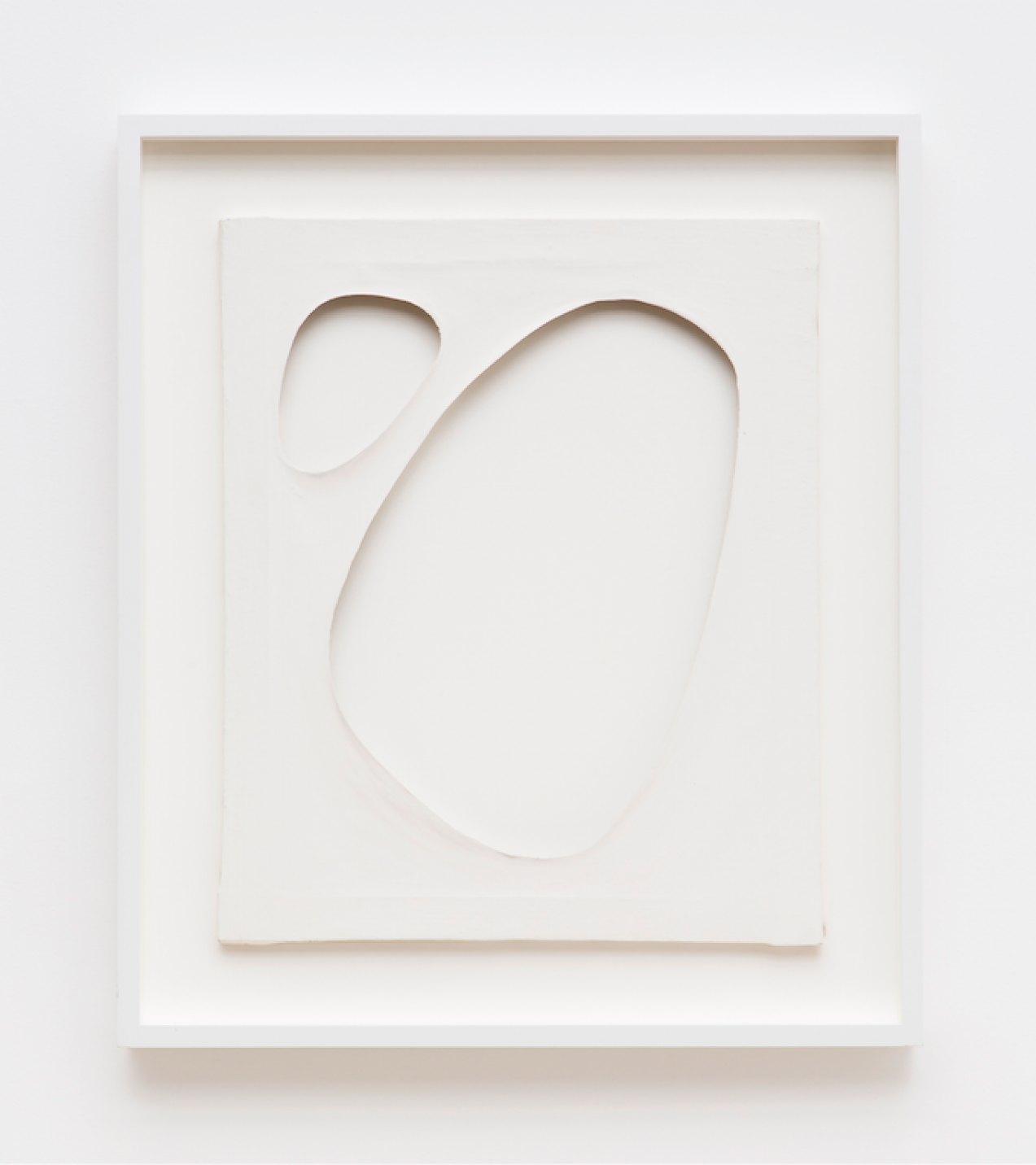 Dadamaino, <em>untitled</em>, from<em>Volumi</em> series,1959,water-based ink on canvas,60 ×50 cm - Mendes Wood DM
