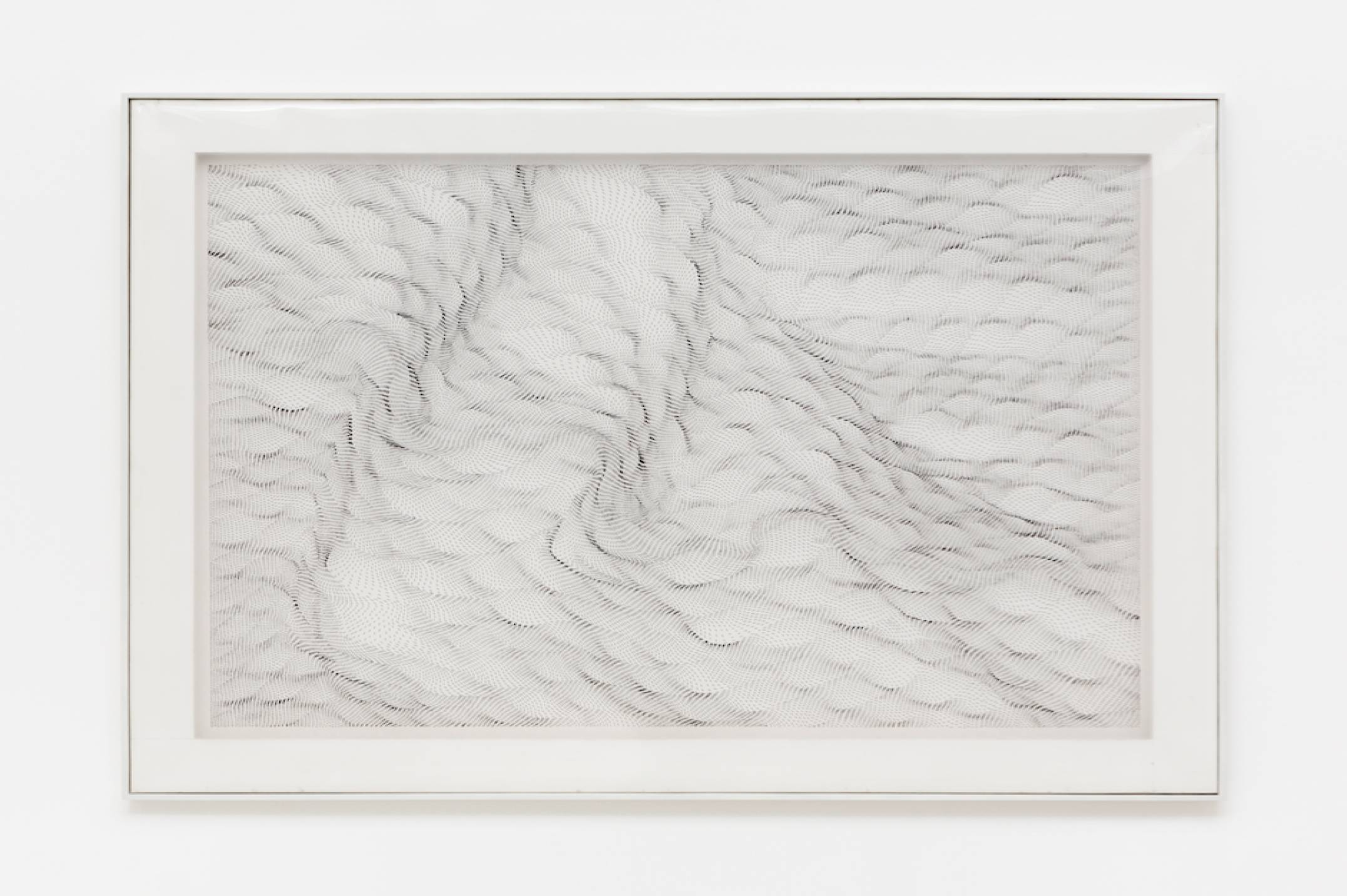 Dadamaino,<em>Il movimento delle cose,</em>1990,ink on polyester,116 × 150 cm - Mendes Wood DM