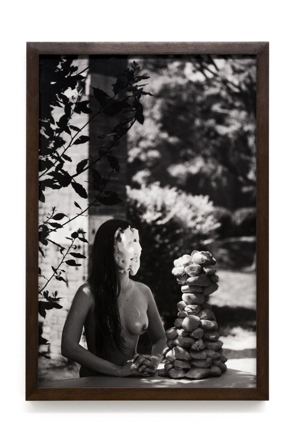 Luiz Roque & Erika Verzutti,<em>Monalisa</em>, 2017, photograph,55 × 36,5 cm - Mendes Wood DM