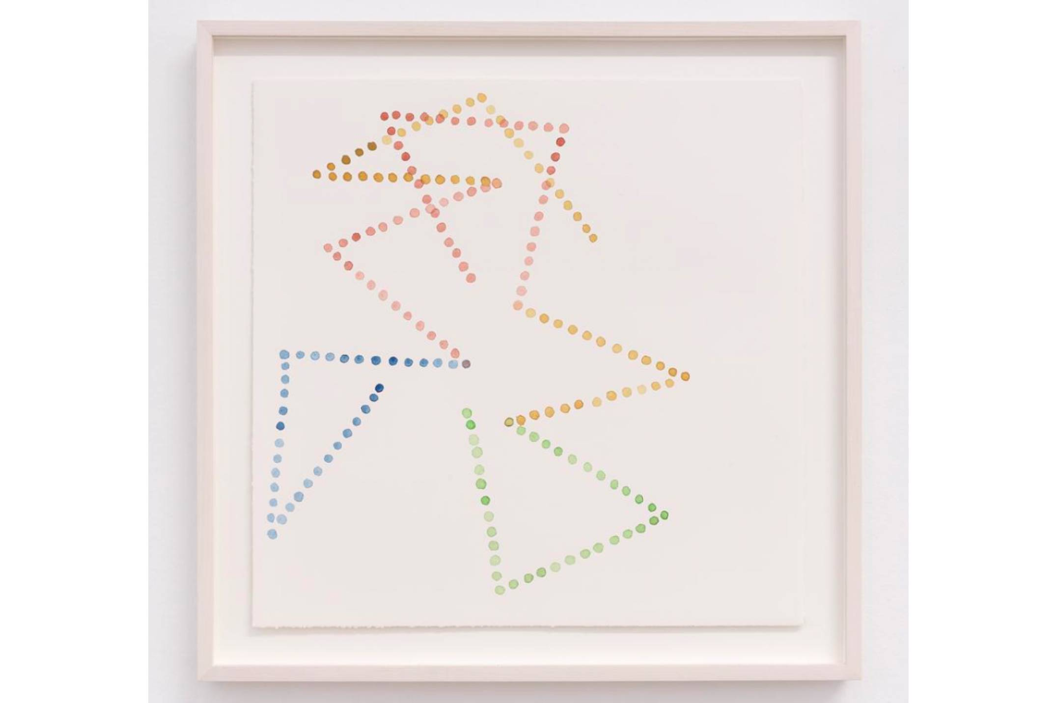 Mariana Castillo Deball, <em>Tonalamatl II</em>, 2017, watercolor on paper, 35 × 35 cm - Mendes Wood DM