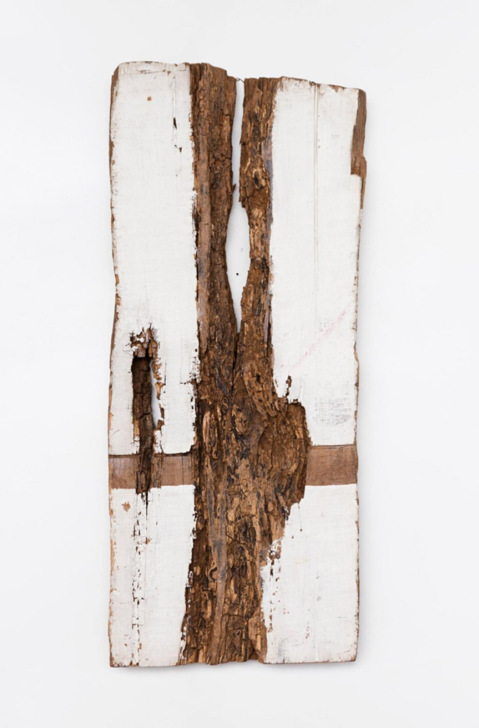 Celso Renato, <em>Untitled</em>, s/d, acrylic on wood, 75,5 × 31 × 7 cm - Mendes Wood DM